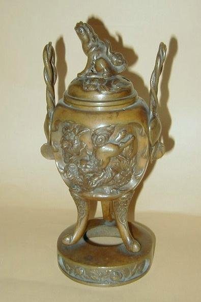 Japan Bronze Pot Incense burner