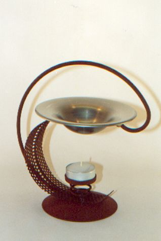 France Metal Aroma Lamp Incense burner