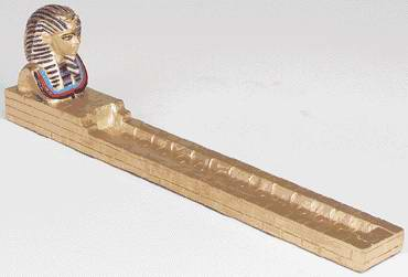 Gold Mythology : Sphinx Incense burner