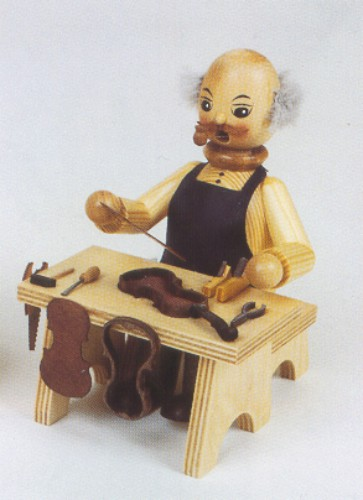Germany Wood Human Incense burner