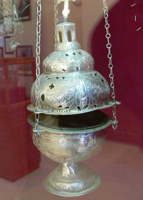 Greece Silver Censer Incense burner